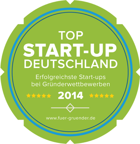 Für-Gründer.de Siegel Top Start-up